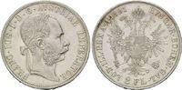 Doppelgulden 1891, Haus Habsburg, Franz Joseph I., 1848-1916, vz-st  295,00 EUR kostenloser Versand