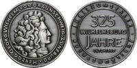 Silbermed. 1997 Hamburg, 352 Jahre Wilhelmsburg - Georg Wilhelm von Bra... 22,50 EUR