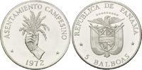 5 Balboas 1972 Panama, FAO, st  30,00 EUR