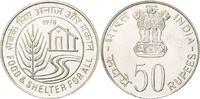50 Rupien 1978 Indien, FAO, st  35,00 EUR