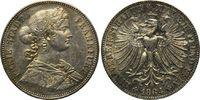 Frankfurt, Vereinstaler 1864 f.st Freie Stadt, 1815-1866, 175,00 EUR  zzgl. 6,40 EUR Versand