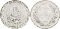 500 Lira 1980 Türkei, FAO, st  12,00 EUR