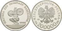 200000 Zloty 1991, Polen, Olympische Spiele in Barcelona 1992 - Gewicht... 28,00 EUR kostenloser Versand