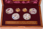 2x 150 Yuan; 4x 10 Yuan, 2008, China, Gedenkmünzen zur Olympiade in Pek... 1298,00 EUR kostenloser Versand