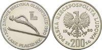 200 Zloty 1980, Polen, Olympische Spiele in Lake Placid 1980 - Skisprin... 19,00 EUR kostenloser Versand