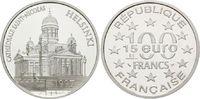 100 Francs / 15 Euro 1997, Frankreich, Nikolaikirche zu Helsinki, PP  27,00 EUR20,00 EUR kostenloser Versand