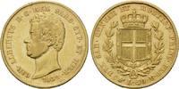 20 Lire 1839, Italien, Sardinien, Carlo Alberto, 1831-1849, ss+  320,00 EUR kostenloser Versand