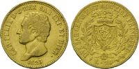 20 Lire 1825 Italien, Sardinien, Felice, ss  345,00 EUR  zzgl. 9,40 EUR Versand
