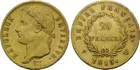 20 Francs 1815 W, Frankreich, Napoleon I. Bonaparte, 1804-1814, 1815, s... 1645,00 EUR kostenloser Versand