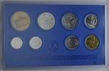 KMS 1981 DDR, Kursmünzensatz 1 Pfg. bis 5 Mark, st  42,00 EUR  zzgl. 6,40 EUR Versand