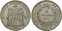 5 Francs 1876 A, Frankreich, Dritte Republik, 1871-1940, kl.Rf., vz  55,00 EUR kostenloser Versand