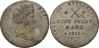 Konventionstaler 1811, Westfalen, Hieronymus Napoleon, 1807-1813, ss+  415,00 EUR kostenloser Versand