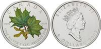 Kanada, 5 Dollars Kanadischer Farb Maple Leaf,