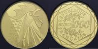 1000 Euro 2014, Frankreich, Gallischer Hahn, PP, Pappschuber  1225,00 EUR kostenloser Versand
