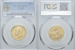 Sovereign 1911 C, Kanada, George V., 1910-1936, PCGS MS64  570,00 EUR kostenloser Versand