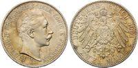 2 Mark 1901 A Preussen Wilhelm II., 1888-1918, f.st  499,00 EUR kostenloser Versand