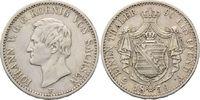 1/3 Taler 1859 F Sachsen Johann, 1854-1873, f.vz  125,00 EUR kostenloser Versand