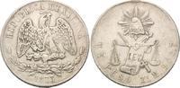 Peso 1873 Zs H Mexiko, Republik, seit 1821, Zacatecas ss  75,00 EUR