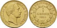 1/2 Vereinskrone 1859, Bayern, Maximilian ...