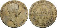 Taler 1814 A, Brandenburg-Preussen, Friedrich Wilhelm III., 1797-1840, ... 358,00 EUR kostenloser Versand