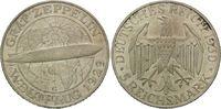 5 Mark 1930 G Weimarer Republik, Zeppelin, f.st  265,00 EUR kostenloser Versand