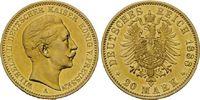 20 Mark 1888 A Preussen, Wilhelm II., 1888...