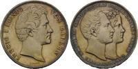 Doppeltaler 1842 Bayern, Vermählung Maximi...