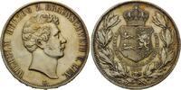 Doppeltaler 1856, Braunschweig, Wilhelm, 1831-1884, st  535,00 EUR kostenloser Versand