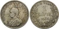 1 Rupie 1906 A Deutsch Ostafrika, Wilhelm II., 1888-1918, vz-st  165,00 EUR kostenloser Versand