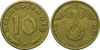 10 Pfennig 1936 A Drittes Reich, Kleinmünze, ss/vz  56,00 EUR