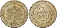 5 Mark 1928 E Weimarer Republik, Eichbaum, vz/st  240,00 EUR kostenloser Versand