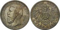 5 Mark 1898 Baden, Friedrich I., 1856-1907, vz+  358,00 EUR kostenloser Versand