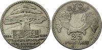 25 Piaster 1929, Libanon, Republik Libanon, Französisches Protektorat, ... 16,00 EUR kostenloser Versand
