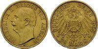 20 Mark 1904 Anhalt, Friedrich II., 1904-1918, f.st  3340,00 EUR
