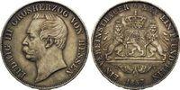 Vereinstaler 1857, Hessen, Ludwig III., 1848-1877, teils dunkle Pat., f... 198,00 EUR kostenloser Versand