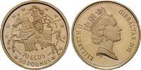 70 Ecus - 50 Pounds 1991 Gibraltar, Gibraltar in Europa, PP  175,00 EUR  zzgl. 6,40 EUR Versand