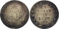 10 Zlotych =1 1/2 Rubel 1835 HG Polen, Nikolaus I. von Russland, 1825-1... 255,00 EUR kostenloser Versand