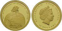 10 Dollars 2009 Cook Islands, 40. Jahrestag Apollo 11, 1969-2009, PP  58,00 EUR