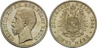 2 Mark 1884 Reuss, Heinrich XIV., 1867-191...
