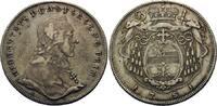 Konventionstaler 1781 M Salzburg, Erzbistum, Hieronymus Graf Colloredo,... 215,00 EUR  zzgl. 6,40 EUR Versand