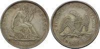 50 Cents 1839 USA, Liberty Seated Half Dollar, vz+  995,00 EUR  zzgl. 9,40 EUR Versand