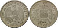 Peso 1875 Chile, Republik, seit 1818, st