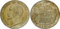 Doppelgulden 1854, Sachsen-Meiningen, Bernhard Erich Freund, 1821-1866,... 400,00 EUR kostenloser Versand