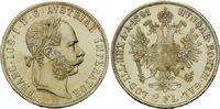 Doppelgulden 1891, Haus Habsburg, Franz Joseph I., 1848-1916, st  345,00 EUR kostenloser Versand