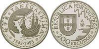 200 Escudos 1993, Portugal, Portugiesische Entdeckungen - Tanegashima, PP  19,00 EUR kostenloser Versand