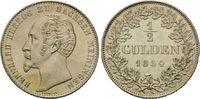 1/2 Gulden 1854 Sachsen-Meiningen, Bernhard II. Erich Freund, 1821-1866... 215,00 EUR  zzgl. 6,40 EUR Versand