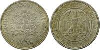 5 Mark 1927 A Weimarer Republik, Eichbaum, st  245,00 EUR  zzgl. 6,40 EUR Versand