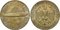 3 Mark 1930 D Weimarer Republik, Zeppelin, st  125,00 EUR