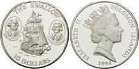 10 Dollars 1994 Salomonen, Geschichte der Seefahrt - Segelschiff Swallo... 32,00 EUR kostenloser Versand