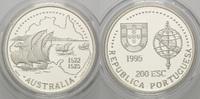 200 Escudos 1995, Portugal, Zeitalter der portugiesischen Entdeckungen ... 21,00 EUR kostenloser Versand